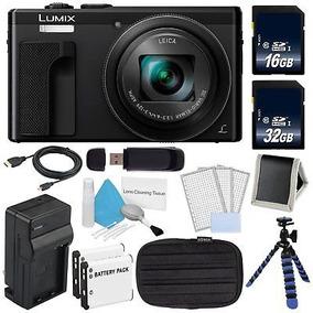 Cámara Digital Dmc-zs60 De Panasonic Lumix 4k (negro) + 32gb