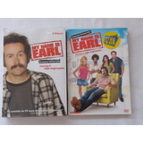 Box Dvd My Name Is Earl 1ª E 2ª Temporadas-originais-lacrado