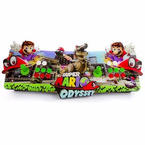 Fliperama Arcade Super Mario Bross Portátil Sensor Óptico