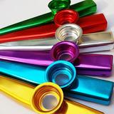 10 Pzs Kazoo Metalico 6 Colores Disponibles Kazu Kasu