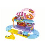 Supermercado Playset Zuru Hamsters Nuevo Pero Abierto