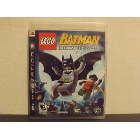 Ps3 Lego Batman 1 The Videogame - Original - Aceito Troca...