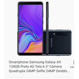 Smartphone Samsung Galaxy A9 128 Gigas Preto
