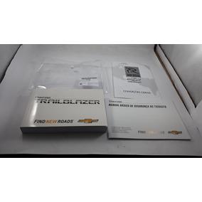 Manual Proprietário Trailblazer 16/18 Original Gm Em Branco.