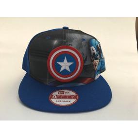 Gorra Capitan America New Era en Mercado Libre México c5ba8a1f46c
