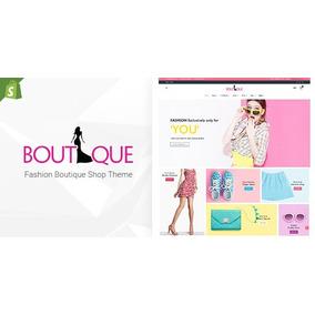 Tema Shopify Fashion Boutique V1.0 - Loja Virtual