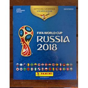 Álbum Da Copa Do Mundo 2018 Rússia + 30 Figurinhas