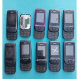 Lote Com 10 Celulares Nokia C2-05 (leia A Descrição)