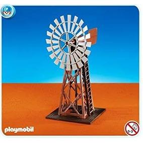 Playmobil 6214 Western Moinho De Vento Frete Gratis
