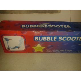 Monopatin Para Niño Con Burbujas