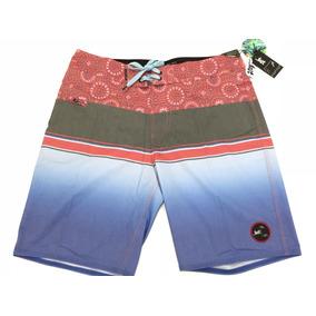 Boardshorts Lost, Mod. Tri Banger Brdsht, Color Red.