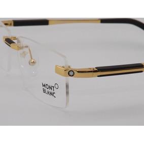 Armaã§ã£o óculos Feminino Oculos Grau Mont Blanc - Óculos Armações ... d43bff1fbb