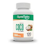 Óleo De Coco 120 Caps Original Apisnutri Super Oferta