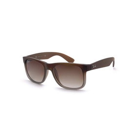 9be29f2d6333c Óculos Ray Ban Justin 4165 55 854 72 Marrom - Óculos no Mercado ...