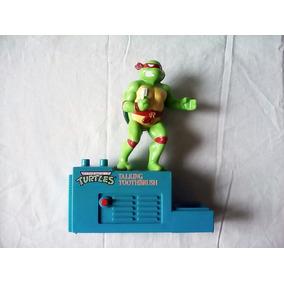 Porta Cepillos Tortugas Ninja (1989 Mirage) Para Colección