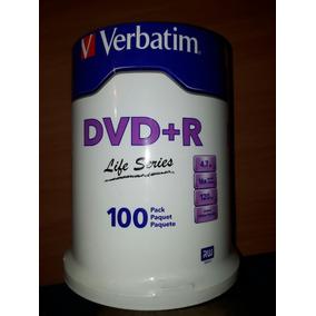 Dvd + R Verbatim 4.7 Gb 16x Speed 120 Min
