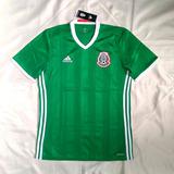 995149bb582a7 Camisa Oficial adidas México 2016   2017 Home S nº - Elton