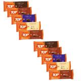 10kg Total Barra Chocolate Cob P/ Ovos De Páscoa Top Harald
