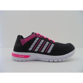 Tênis Zeuz Feminino Caminhada Corrida Esporte