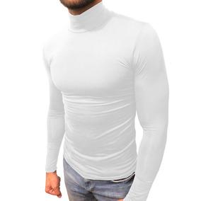 Pacote Com 3 Camisas Masculina Térmica Gola Alta Manga Longa 2193b3154598e