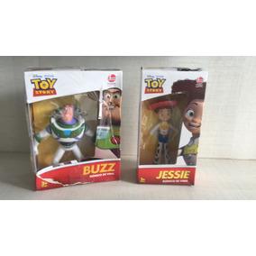 Bonecos Jessie E Buzz Lightyear Articulados, Toy Story