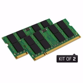 Kit Memória 4 Gb (2x2gb) Ddr2-667 Pc2-5300 P/ Notebook E Mac