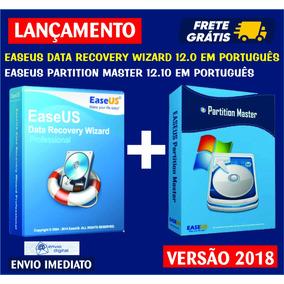 Easeus Data Recovery Wizard 12 + Partition Master 12 Ativado