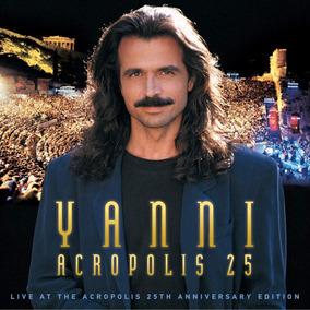 Yanni - Acropolis 25 - Blu Ray + Dvd + Cd, Lacrado