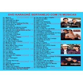 4 Dvds Karaokê Pop Rock, Axé, Mpb, Sertanejo Cante Sucessos