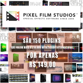 150 Plugins Pixel Film Studios - P/ Final Cut Pro X ( Mac )