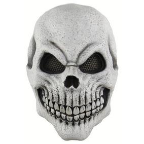 Máscara Látex Esqueleto Caveira Monstro Terror Festas