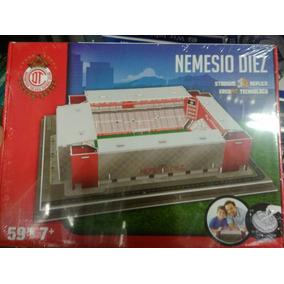 Rompecabezas 3d Nemesio Diez (bombonera) Del Toluca Nanostad