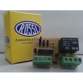 Placa Temporizador/sensor Luz De Garagem Para Motor Rossi