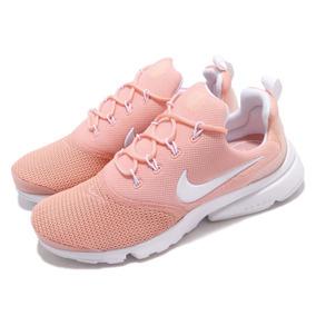 Nike Presto Fly Coral Stardust Tenis Rosa Mujer Mx#26 Us#9