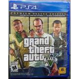 Grand Theft Auto V Premium Online Edition.-ps4
