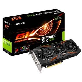 Tarjeta De Video G1 Gaming 8gb Ddr5 Gtx 1070 Nvidia Cuda