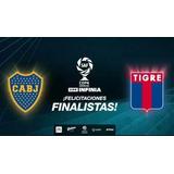 Entrada Final Boca-tigre - Copa Superliga - Popular Boca