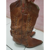 Bota Country Red Dust Marrom