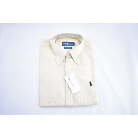 Camisa En Pana Beige Polo Ralph Lauren - Camisas de Hombre en ... 8553e536885