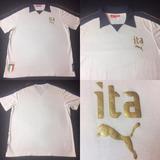 Camisa Polo Puma Figc Seleção Itália - Camisa Itália Masculina no ... b9b1c7dea3a84