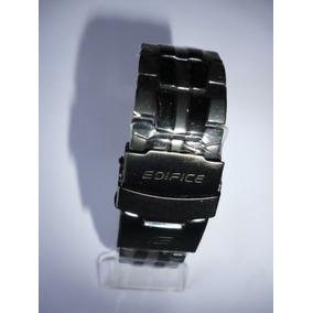 245a8e71c28 Pulseira Aço Inox Casio Edifice Linha Ef-550 554 Preto Fosco
