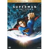 Dvd Superman O Retorno - Ed. Especial Box Duplo Novo Lacrado
