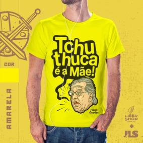 Camisa - Paulo Guedes (amarela)