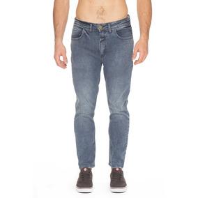 Pantalón Denim Billabong Slim Crop Blue Wave Hombre