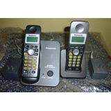 Teléfono Inalámbrico Panasonic Kx-tg3521la Duo Contestador