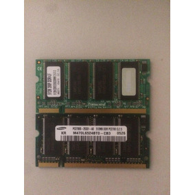 Pc 2700 - 333mhz- 2 X 512mb