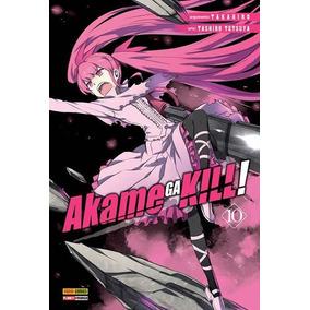 Akame Ga Kill 10! Mangá Panini! Novo E Lacrado!