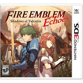 Fire Emblem Echoes Shadows Of Valentia Mídia Física - 3ds
