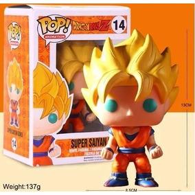 Dragon Ball Z Boneco Funko Pop Super Saiyan Goku Bobble Head