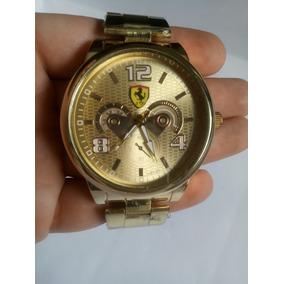 6bd31da0319 Relogios Ferrari Dourado - Relógio Masculino no Mercado Livre Brasil